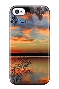 Defender Case For Iphone 4/4s, Scenic Pattern