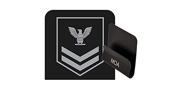 US Navy Petty Officer Second Class Rank Operator Clip