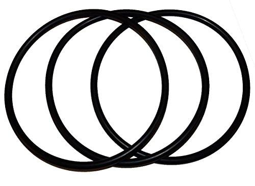(3 Pack) Pentek, Pentair 350013 Lid O-Ring - Replacement Pool and Spa Pump ORing by Captain (Pump Gasket Kit)