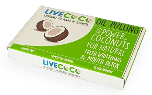 photo Wallpaper of LiveCoco-LiveCoco Coconut Oil Pulling LOW Stock! Natural Teeth Whitening | Home-White, Green