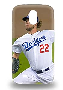 Awesome Design MLB Los Angeles Dodgers Clayton Kershaw #22 Hard 3D PC Case Cover For Galaxy S4 ( Custom Picture iPhone 6, iPhone 6 PLUS, iPhone 5, iPhone 5S, iPhone 5C, iPhone 4, iPhone 4S,Galaxy S6,Galaxy S5,Galaxy S4,Galaxy S3,Note 3,iPad Mini-Mini 2,iPad Air )