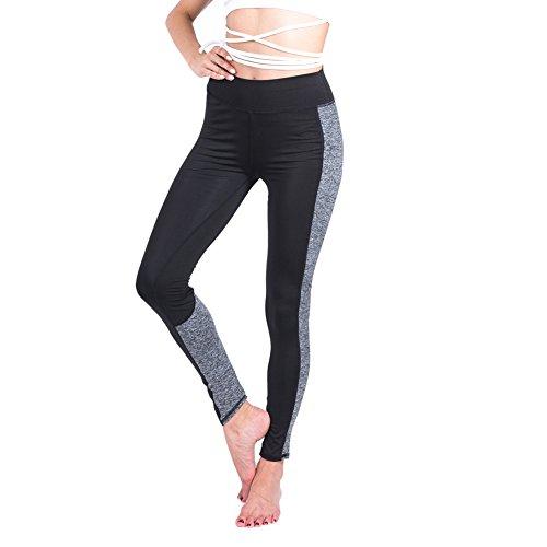 Tenxin Femme Pantalon De Sport Leggings Pantalon Yoga Fitness