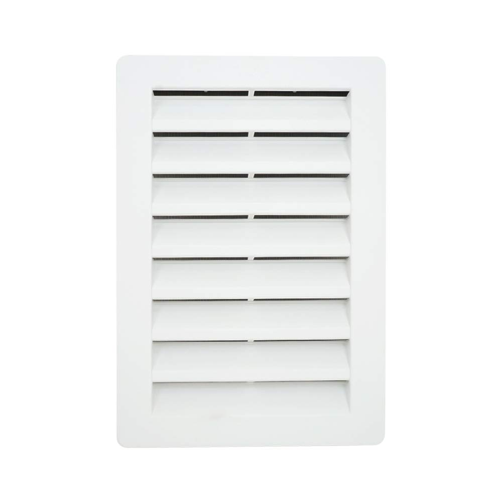 12'' x 18'' Rectangle Functional Gable Vent with Screen - 2 Piece Construction - White by Suntown