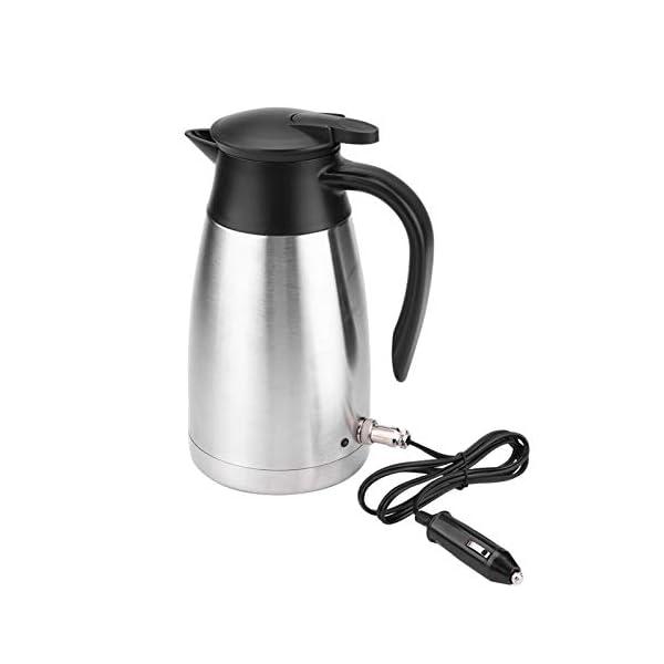 419qcZaTtiL Wasserkocher 1000ML Auto LKW 12V/24V Wasserkocher Edelstahl Elektrische Heizung Wasserflasche Schnell kochendes Wasser…