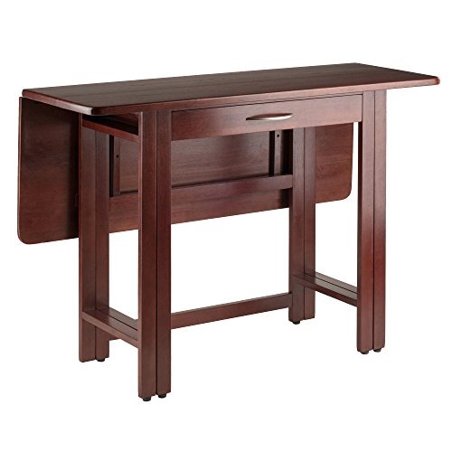 Game Dining Set Table Room (Winsome Wood 94145-WW Taylor Dining, Walnut)