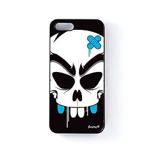 Deff Carcasa Protectora Snap-On en Plastico Negro para Apple® iPhone 5 / 5s de Gangtoyz + Se incluye un protector de pantalla transparente GRATIS