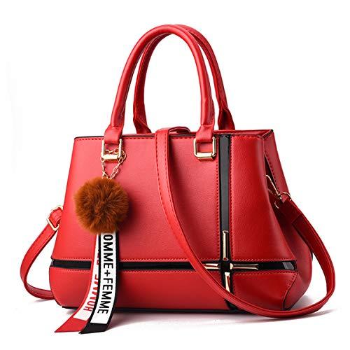 Pour Fourre Out Exull Main Élégants Pu Femmes Red 1325 Dames Sacs À Classiques Bandoulière Cuir Élégantes En BwXT1WnHq7