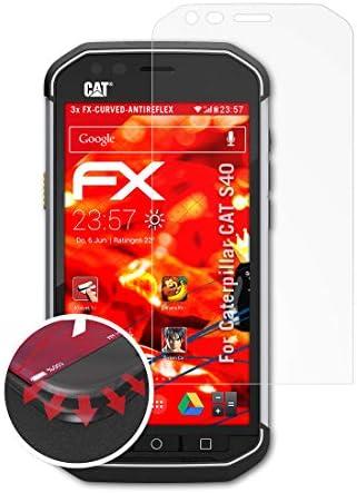 atFoliX Anti-Choque Lámina Protectora de Pantalla Compatible con ...
