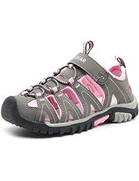 803990328508b0 Boys Girls Sport Water Sandals Closed-Toe Outdoor(Toddler Little Kid Big