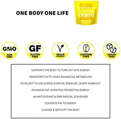 Fat Burning Lemonade All Natural Slimming Weight Loss Drink for Men & Women, Pre Workout Energy Booster Post Workout Recovery Boost Metabolism Burn Calories All Day Lose Weight Celebrity Endorsed 3
