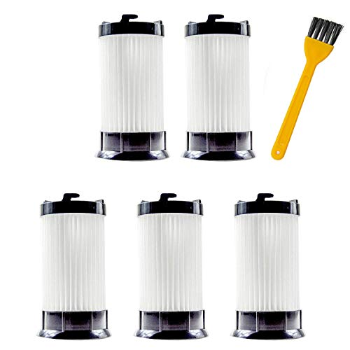 Yours 5 Pack Vacuum Hepa Filter Compatible with Eureka DCF-4,DCF-18