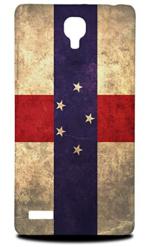 Antilles Note Netherlands (Netherlands Antilles Flag Hard Phone Case Cover Xiaomi Redmi Note/Note 4G)
