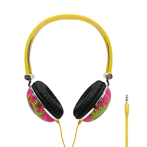 iHip DUM DUMS Candy Stereo Noise Isolating Headphones for Apple Android Compatible Gifts for Kids Teens Headphones for Boys and Girls Fun and Collectible -