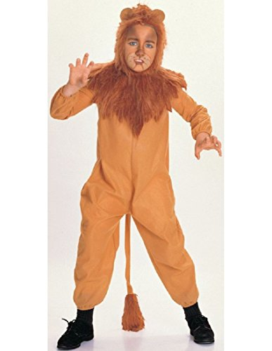 [Cowardly Lion Costume - Large] (Cowardly Lion Tail)