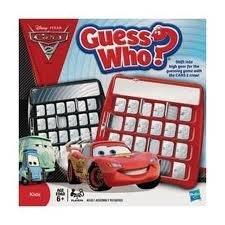 Disney Pixar CARS 2 Guess Who? Game