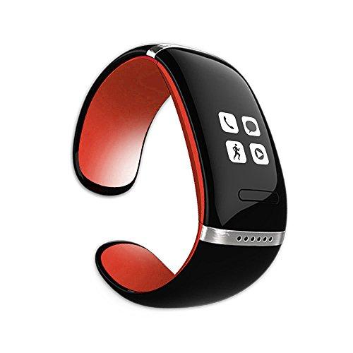 MEMTEQ® Bluetooth Smart Armbanduhr Schrittzähler Sport Business für Android Smartphone