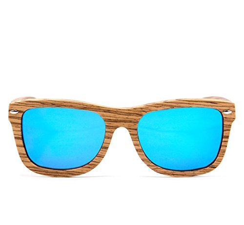 06603f6973 GloFX Real Zebra Wood Sunglasses