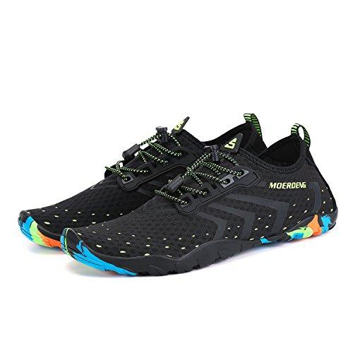 MOERDENG Men Women Water Shoes Quick Dry Barefoot Aqua Socks Swim Shoes for Pool Beach Walking Running by MOERDENG (Image #3)