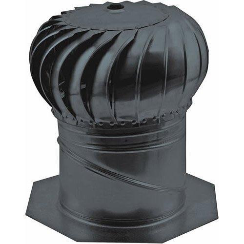 Ll Building Products Aic14bl Internally Braced Turbine Ventilator, 14'', Black