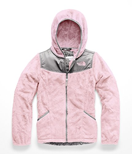- The North Face Girl's OSO Hoodie - Purdy Pink - L