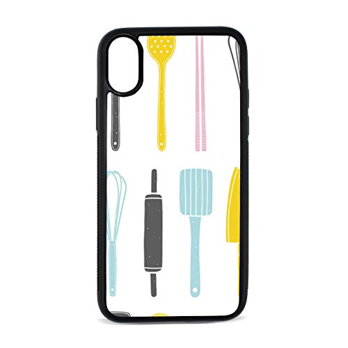 Case for iPhone Chopsticks Chinese Cuisine Kitchenware Digital Print TPU Pc Pearl Plate Cover Phone Hard Case Cell Phone Accessories Compatible with Protective Apple Iphonex/xsCase 5.8 ()