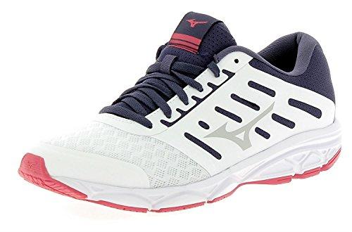 Mizuno Ezrun Wos, Zapatillas de Running Para Mujer Multicolor (White/lunarrock/divapink 34)