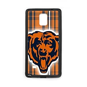 Personalized Chicago Bears Kidszone Bear Note4 Cover Case, Chicago Bears Kidszone Bear DIY Phone Case for Samsung Galaxy Note4 at Lzzcase