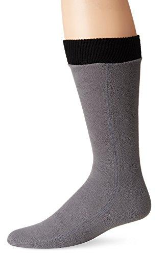 Hot Headz Polarex Fleece Socks, Grey, X-Large (Sock Fleece)