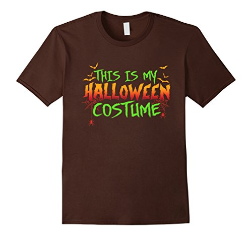Mens This Is My Halloween Costume - Funny & Scary DIY T-shirt 3XL (Scary Halloween Costumes Diy)