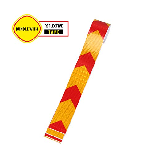 Kid Playing Caution Sign – Children Safety Slow Road Yard Sign - Double Sided Sign Bundled with Reflective Tape by Budgetizer (Image #4)