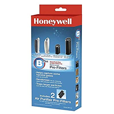 Honeywell HRF-B2 Filter B Household Odor & Gas Reducing Pre-Filter