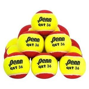 Penn QST 36 Felt Tennis Balls, 12 Ball Polybag