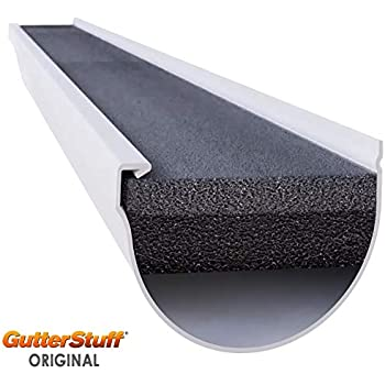 100 Feet Ultra Flo Kwik Fit Leaf Guard Gutter Screens