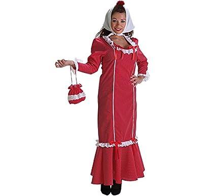 Creaciones Llopis Disfraz de Chulapa Roja con Bolso para ...
