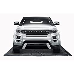 TruContain Containment Mat (Gray) for Snow, Mud & Rain (9Ft x 20Ft)