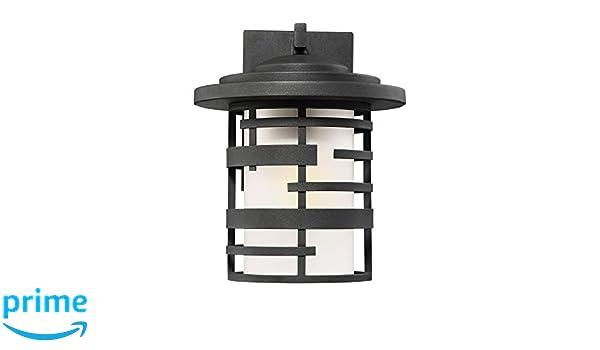 Nuvo 60//6402 One Light Lantern Medium Wall Black