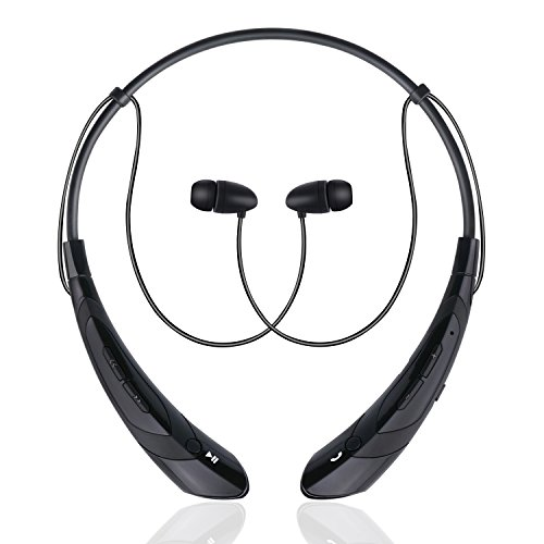Bummd Wireless Bluetooth Headphones Neckband With Microphone V4.1 Stereo Noise Cancelling Running Earphones Magnetic In-ear Earbuds For Iphone, Android Phones and Other Bluetooth Enabled Devices