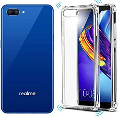 more photos 3c16a 1f7f0 X Wox Flexible Back Cover For Realme C1 (Transparent)