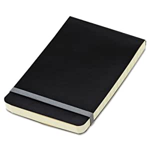 TOPS Idea Collective Softcover Journal, Wide Rule, Cream Paper, 5.5 x 3.5 Inches, 192 Pages, Black Cover (56885)
