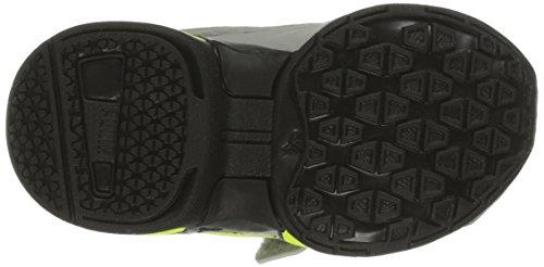 Puma Tazon 5 NM V Kids Sneaker (Infant/Toddler/Little Kid/Big Kid) Limestone Gray/Flurorescent Yellow/Turbulence