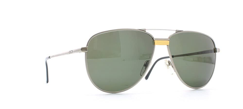35d93ac50ff Amazon.com  Christian Dior 2330 24 Silver Certified Vintage Aviator  Sunglasses For Mens  Clothing
