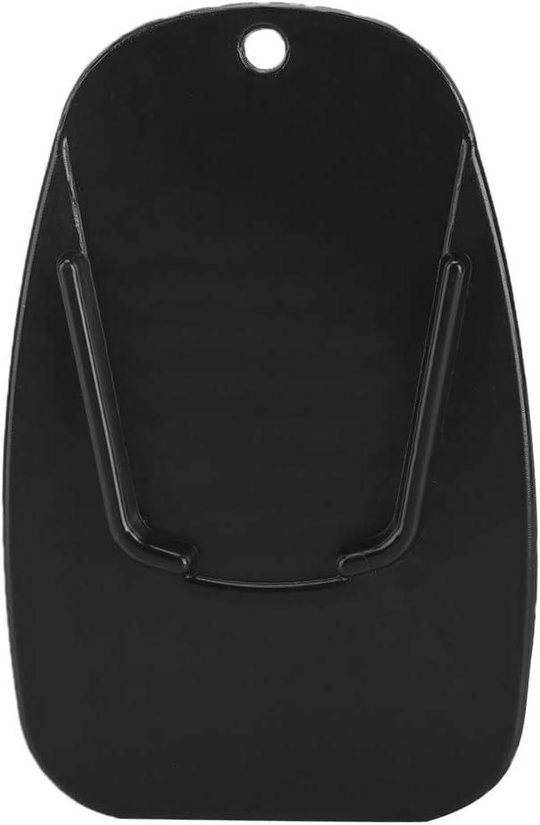 Qiilu Ständer Pad Motorrad Seitenständer Platte Seitenständer Verbreiterung Universal Für Motorräder 9x5 7cm Auto