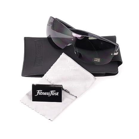 Fitness First Damen Sonnenbrille mit Etui und Putztuch