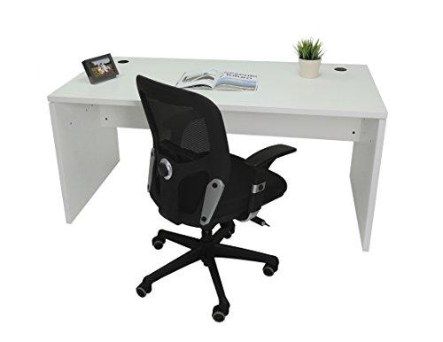 Mesa de Oficina. Euro 2000. Color Blanco. 160x80 cm