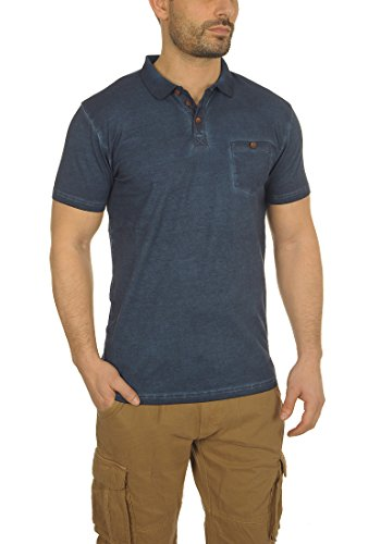 Termann aus mit Polo T Insignia blauem Herren solides 100Baumwolle1991 Shirt Kragen E9e2bDHIWY