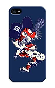 LarryToliver Customizable Baseball Detroit Tigers iphone 5/5s Case Cover Best Gift Choice for