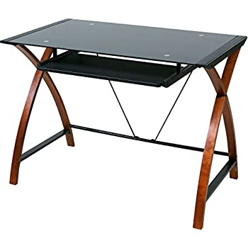 Amazon Com Bell O Cd8841 Computer Desk With Keyboard Tray