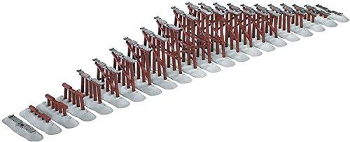 Lionel - FasTrack Graduated Trestle Set O - 6-12037 - Graduated Trestle Set