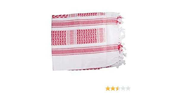 Amazon.com  Red White- Shemagh Tactical Desert Scarf  Apparel  Clothing 23785e2136