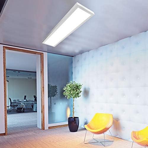 B/üroleuchte Anbau Prisma Active Pure Tageslicht B/ürobeleuchtung 3x25W LED Panel 75W EEK:A+ LED Rasteranbauleuchte T8 150cm Deckenleuchte LED Deckenleuchte LUNA 5000K